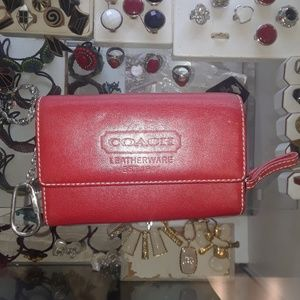 Small Coach Leatherware Est. 1941 Leather Wallet